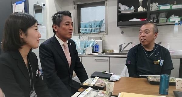 歯科医院の院長