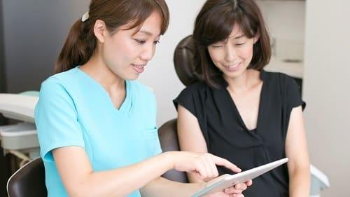 歯科治療のカウンセリング