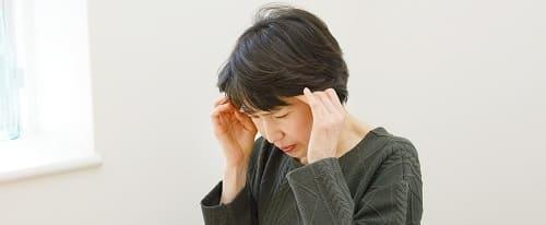 副鼻腔炎での頭痛