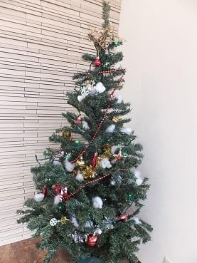 クリスマス仕様にしました